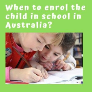 starting primary school age in Australia