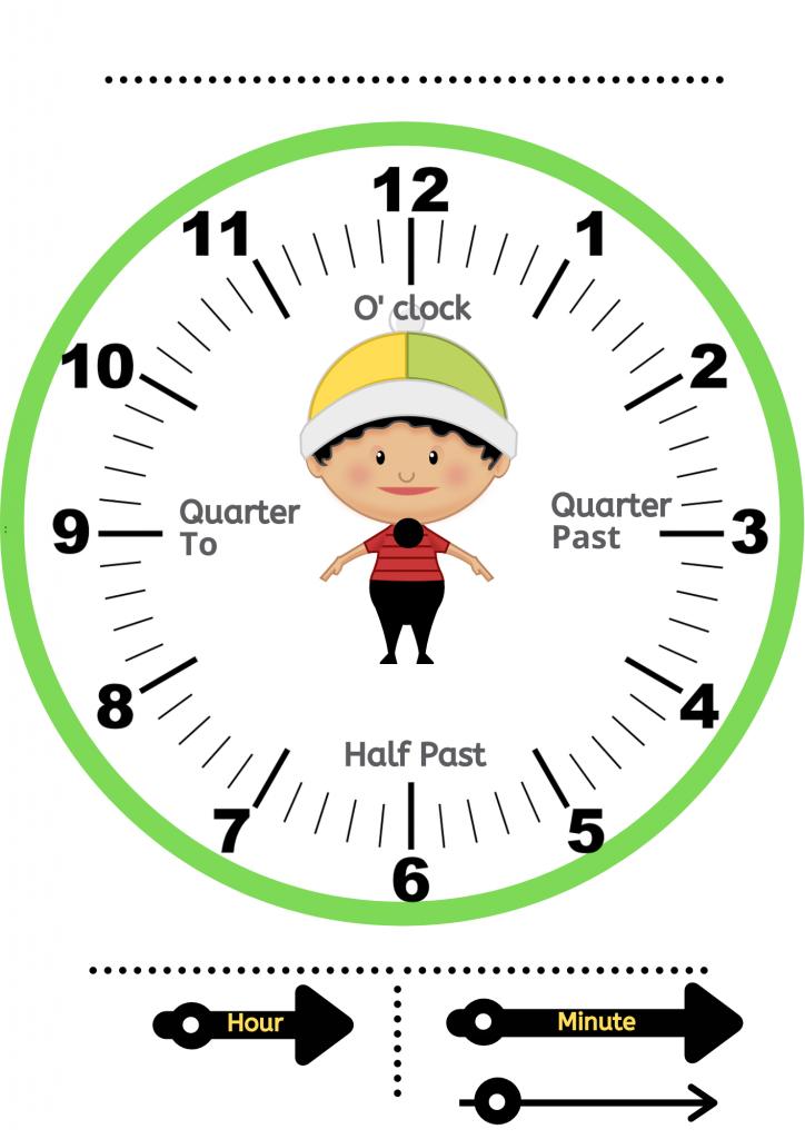 clock activities   printable clock printable