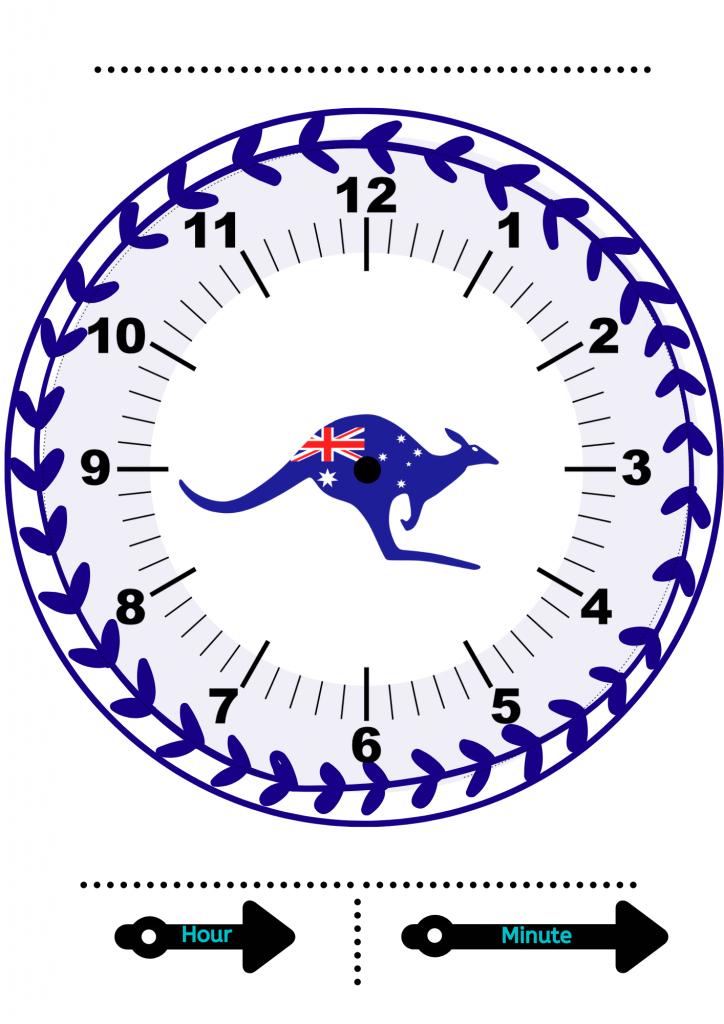 clock activities