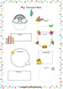 my favourites activity for kids
