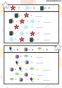 Math games worksheets 1