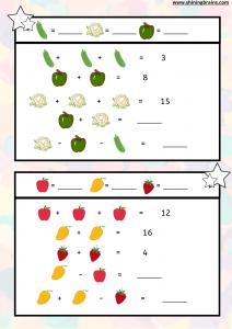 Mental maths worksheet 3