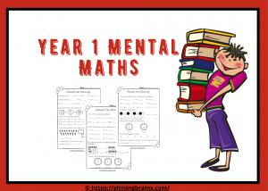 Year 1 mental maths