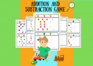 Addition subtraction fun worksheets