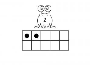 number and algebra   ten frames