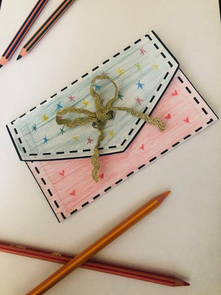 Handmade card for teacher