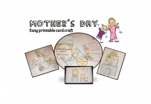 Fun mothers day activity for kids