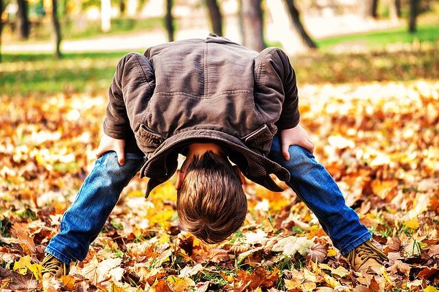 Fun things to do with kids - play Simon says