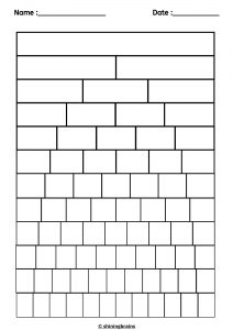 blank fraction wall