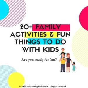 Family Activities Fun Things to do with kids