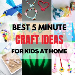 Best 5 Minute Crafts Kids | Easy Craft Ideas