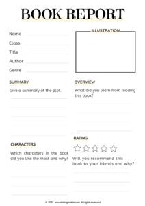 Book review   book report