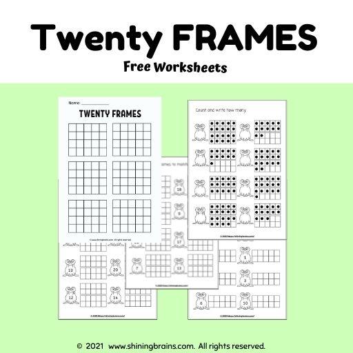 twenty frames - tens counters